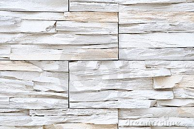 white brick stone exterior and interior decoration building material