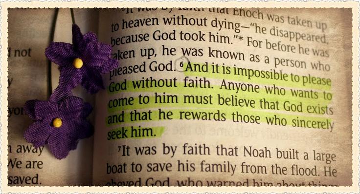 Hebrews 11:6   Christian   Pinterest