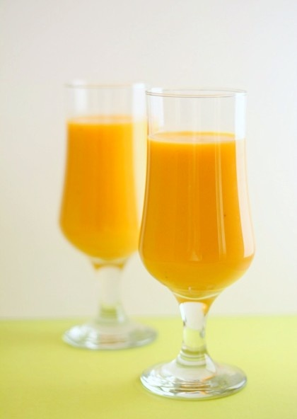 mango carrot smoothie | Fooooooood | Pinterest