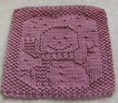 snowman-cloth Knitted Dish Clothes & Wash Clothes ...