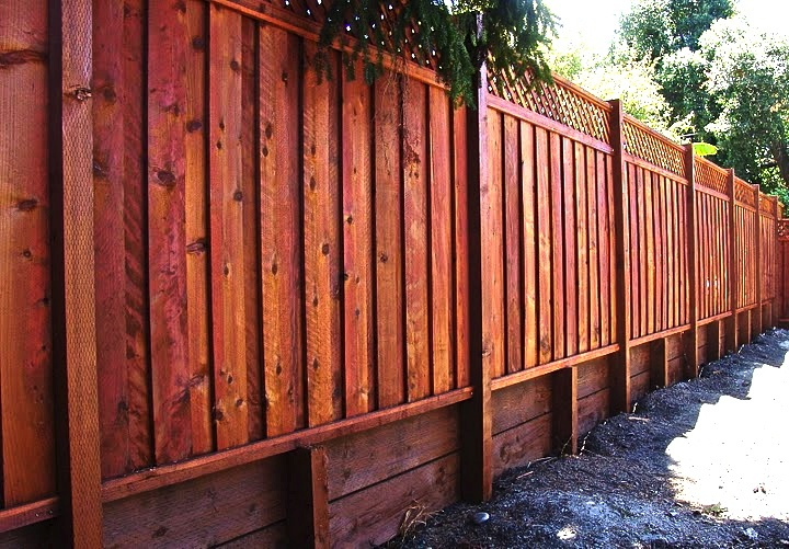 Outdoor fence painting for Outdoor fence paint