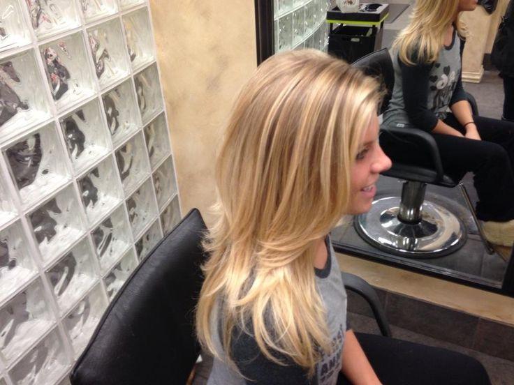 Natural Blonde Balayage - Seriously layering my hair like this next!