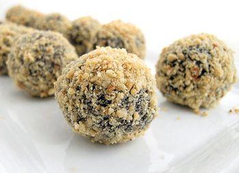 Hazelnut-Espresso Truffles | candies | Pinterest