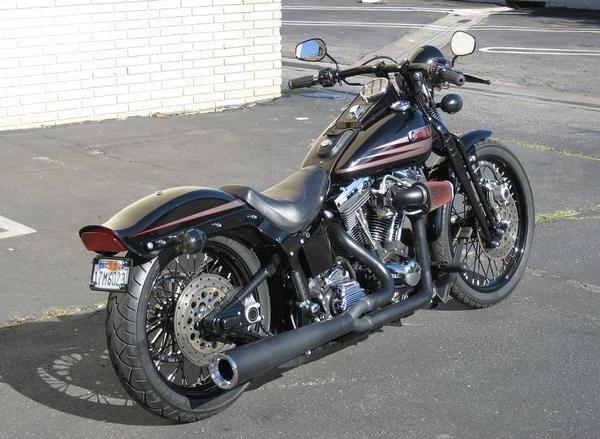 Photo Moto Harley Davidson Bad Boy