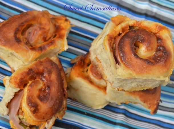 Ham and Cheese Rolls | Bread, Buns & Rolls | Pinterest