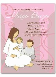 second or third child shower invitation baby shower ideas pintere