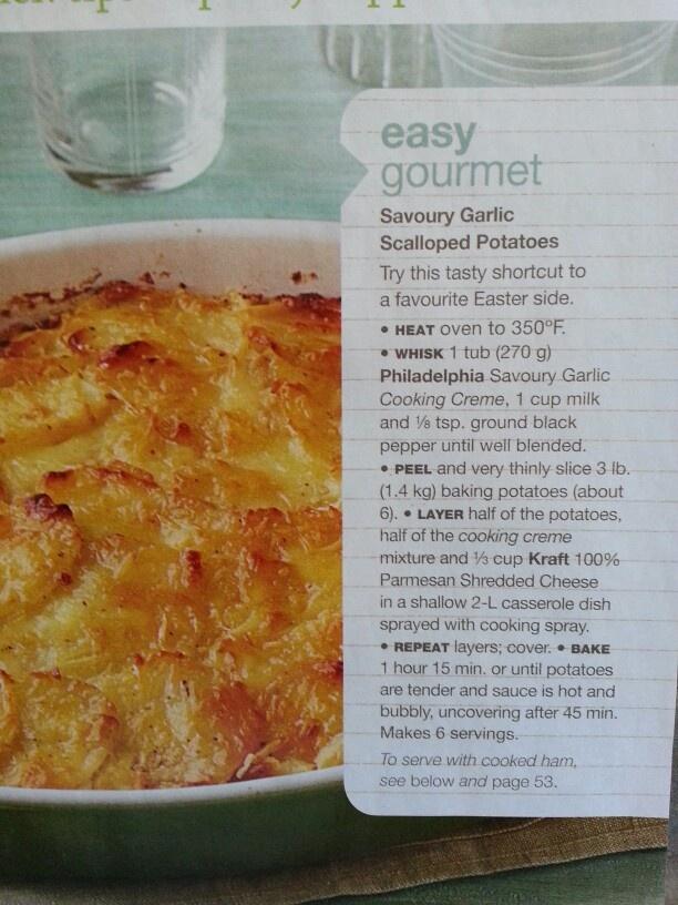 Scalloped potatoes | Food | Pinterest