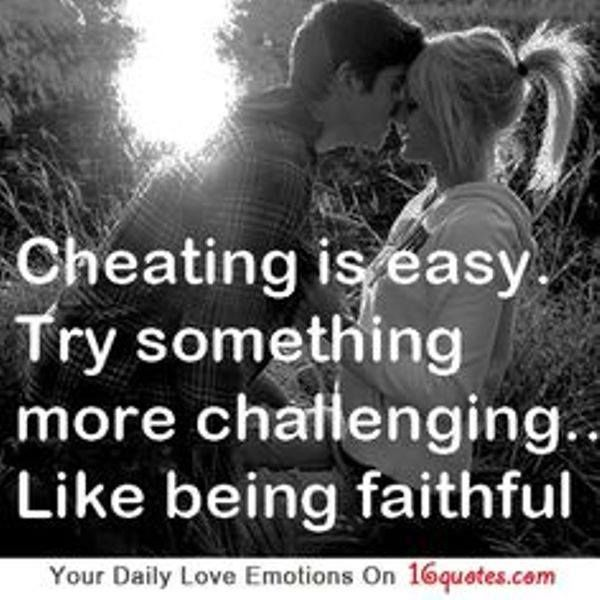 Being Faithful Quotes About Love