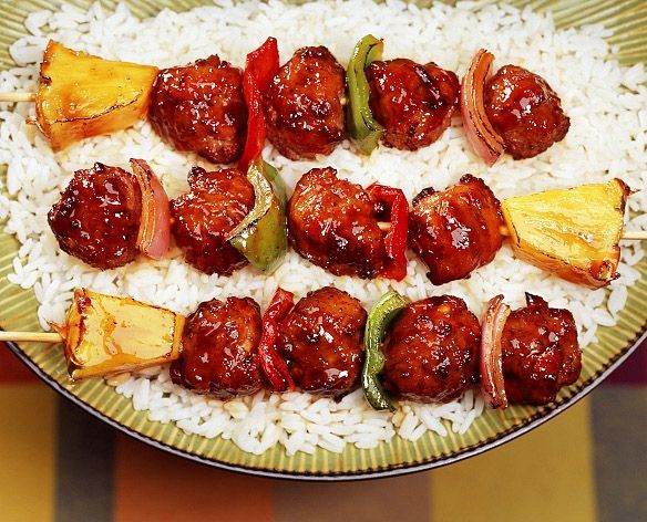 Teriyaki meatball skewers one of the best buys you can get at costco