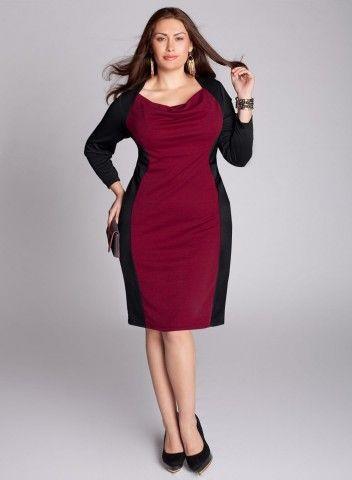Nicole Dress in Berry