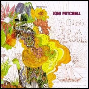 Joni Mitchell album cover
