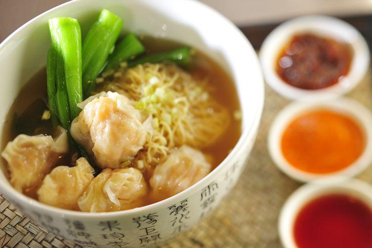 Hong Kong Style Wonton Noodle Soup | health food: the anti-fat | Pint ...