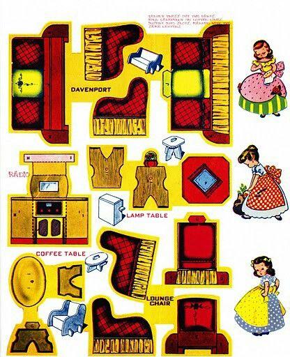 Muebles De Papel Para Recortar Y Armar  apexwallpaperscom