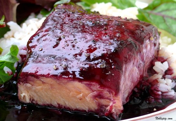 ... times it is the best way to cook salmon blackberry ginger glaze salmon