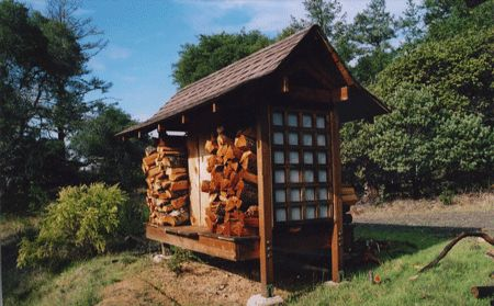 Japanese style wood storage shed future concerns and for Japanese garden shed
