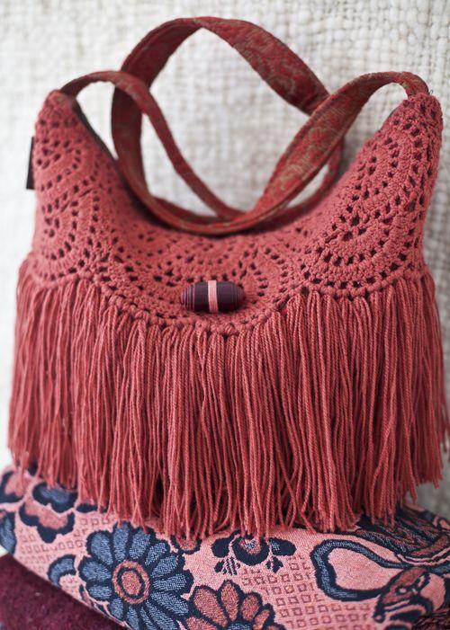 Crochet Fringe Bag : Crochet Fringe Bag $125 For Heaven Pinterest