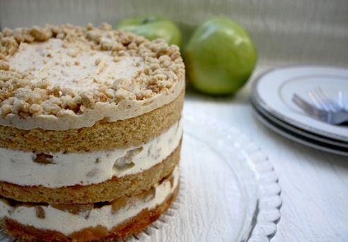 Apple Pie Layer Cake | Indulge | Pinterest