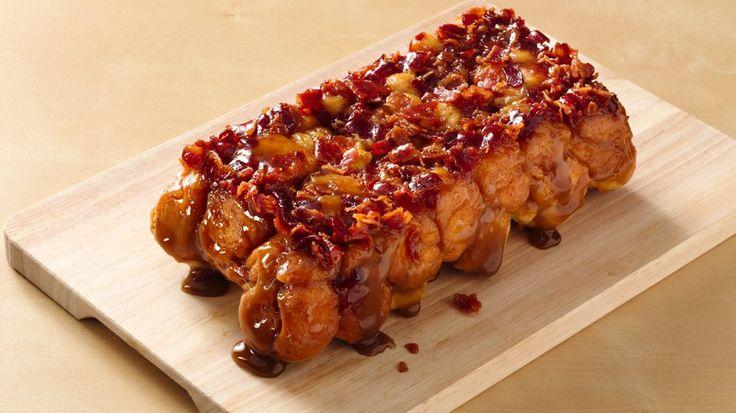 Maple Bacon Monkey Bread (Crowd Size) | Recipe