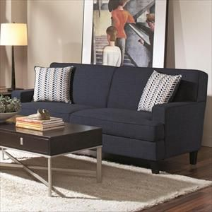 Contemporary Blue Sofa | Nebraska Furniture Mart