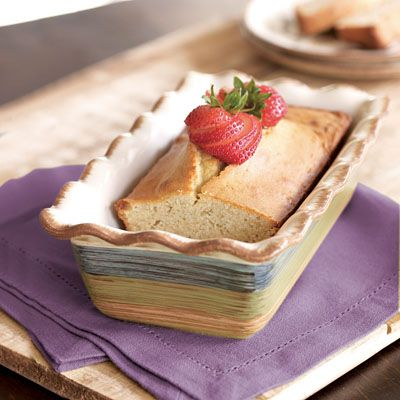 00 Dress up homemade pound cake in our Loaf Pan, ideal as an ...