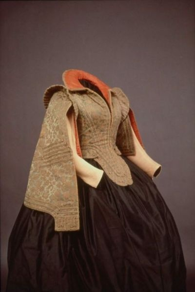 Bodice worn by Marie de Medici, 1575-1600 Spain (worn in Paris), MFA Boston