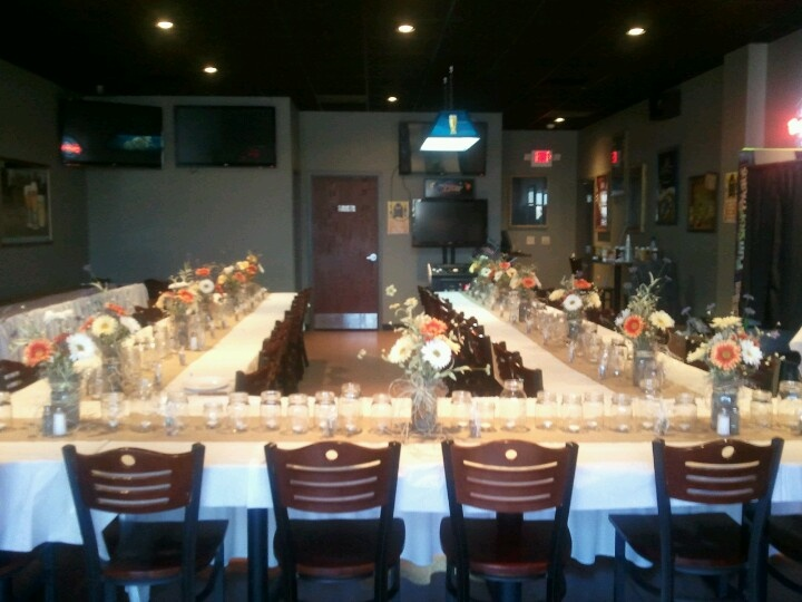 Rustic Rehearsal Dinner Decorations I Did For My Son And Daughter In Laws  Wedding | Rehearsal Dinner Ideas | Pinterest | Rehearsal Dinner Decorations,  ...