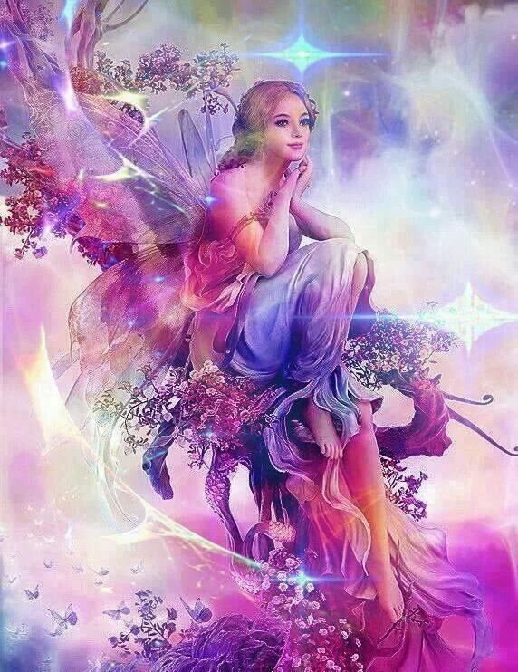 Beautiful Fairies And Angels The Image