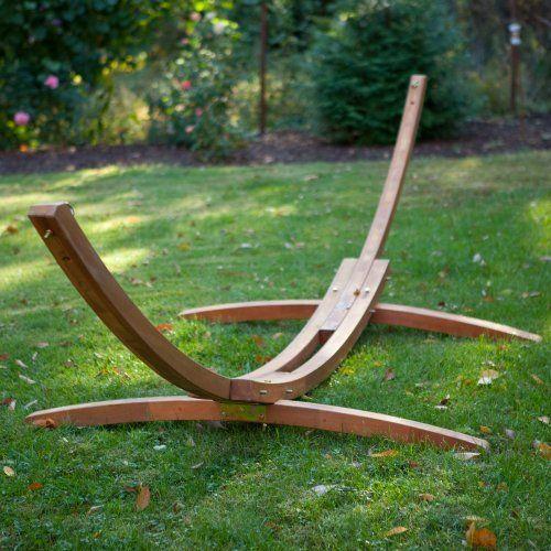 Hammock stand diy hammock pinterest for Hammock chair stand plans