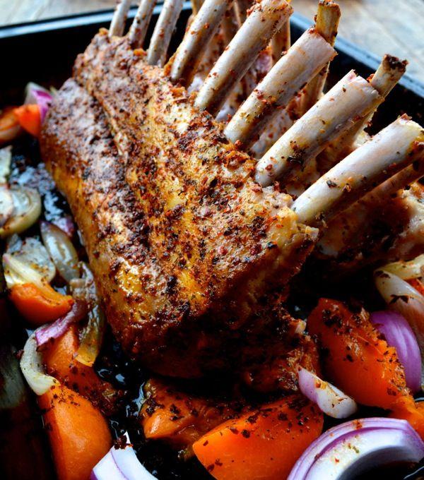 ... lamb lamb garlic roasted leg of lamb bill peet roasted rack of lamb