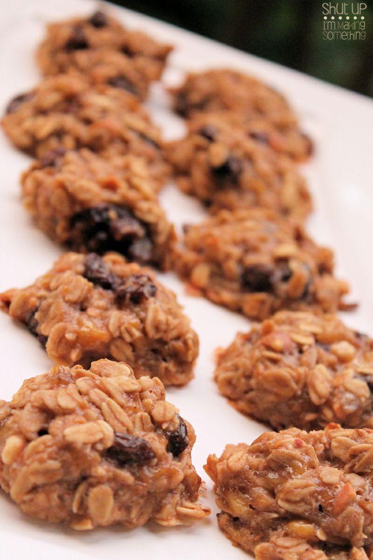 Gluten Free} Oatmeal Banana Cookies | Feed my soul. | Pinterest