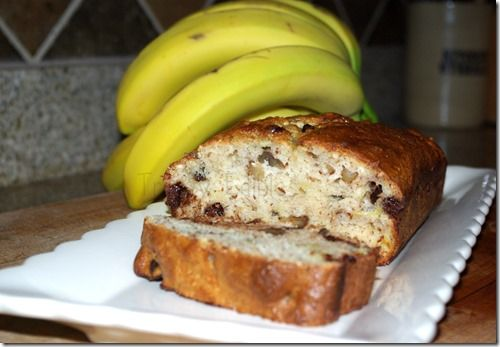 Gluten Free Banana Nut Bread (and it's low fat too!)