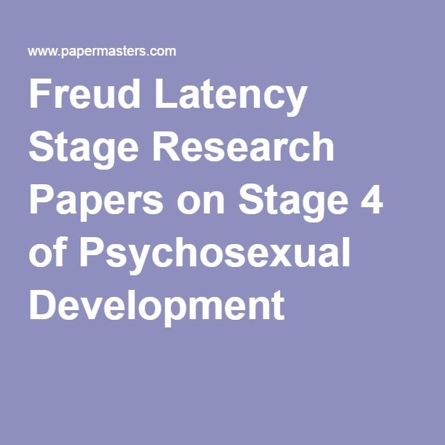 research papers on psychosexual Free research that covers introduction in this paper the information of developing stages of human are discussed which has been proposed by jean piaget and sigmund freud, piaget's theory.