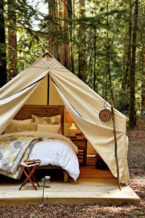 Old Fashioned Tent Cabin Yogafarm Cabins Pinterest