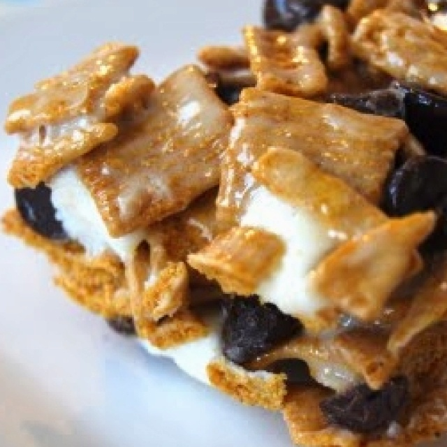 Golden Graham S'mores Bar - OMG HEAVEN | Recipes I Want to Try | Pint ...