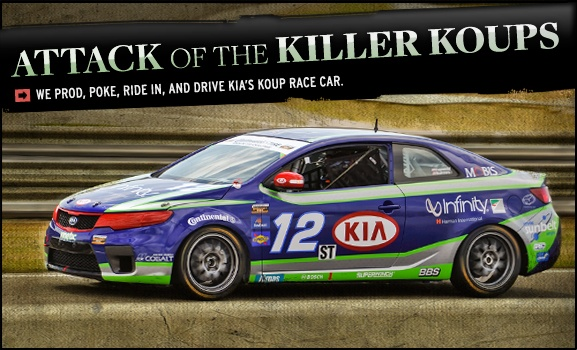 Kia Forte Koup Race Car Feature Pictures