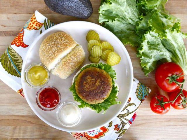 Black-Eyed Pea Burgers - Smoky Vegetarian Burger Recipe. Substitute GF ...
