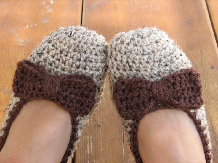 Free Crochet Patterns For Slippers For Adults : Adult Slippers Crochet Pattern PDF,Easy, Great for ...