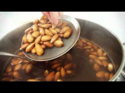 How To Blanch Almonds - YouTube | in my belly | Pinterest