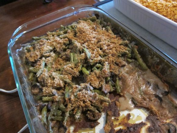 Skinny Green Bean Casserole | Foooooood! | Pinterest