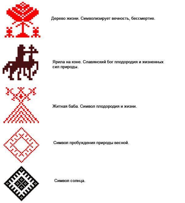 Что означают вышивки крестом 21