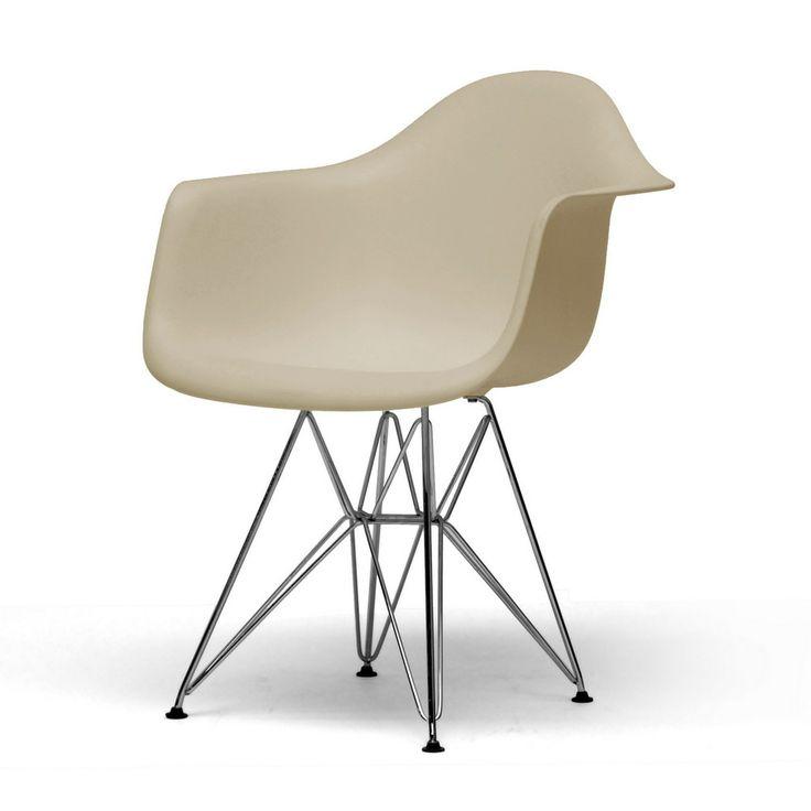 Dario plastic mid century modern shell chairs set of 2 overstock
