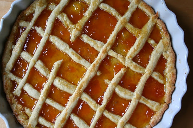 Peach Crostata! | Food Desserts | Pinterest