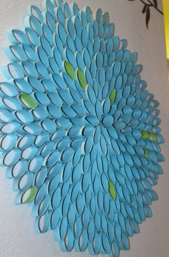 Paper towel roll idea arts and crafts pinterest for Tissue roll art