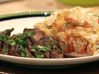 Flat Iron Steak Fajitas