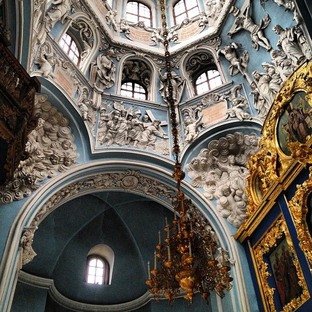 Baroque church beautiful bygone era pinterest for Churches of baroque period