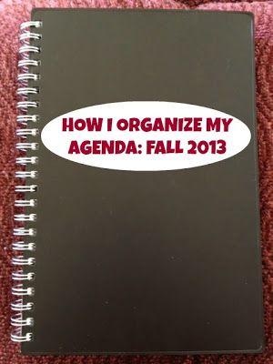 Agenda Organization