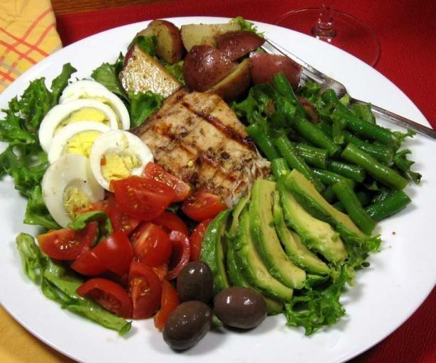 Nicoise Salad With Grilled Tuna | Recipe