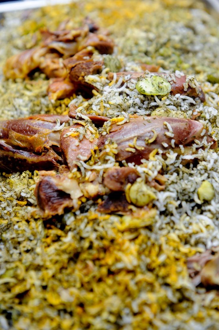 Persian-Style Stuffed Lamb Recipe
