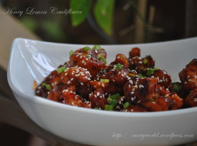 ... honey lemon glazed cauliflower recipe yummly honey lemon glazed