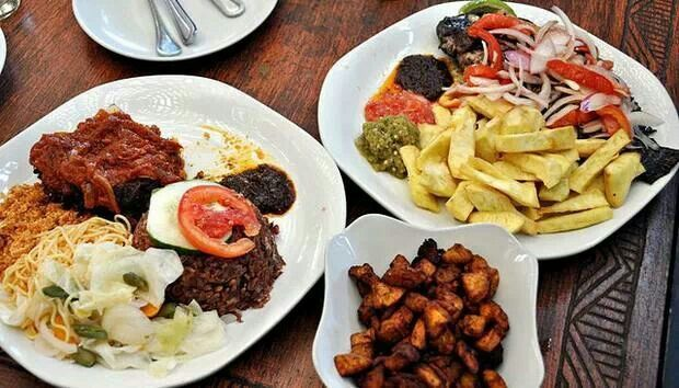 Ghana food history via rosa owusu african food and for African cuisine history